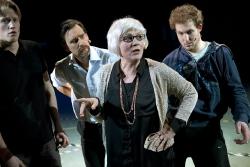 från vänster Fredrik Wahlgren, Markus Fredén, Lena Bogegård, Joel Zerpe. Foto Stig Hammarstedt
