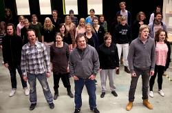 Ensemblen tar ton! Foto Stig Hammarstedt