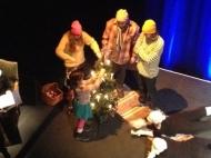"""Repetition av Stjärna över Fritsarve – """"julaftonavsnittet"""". Foto: Mari Ljungström"""