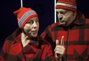 Lena Bogegård, Lennart Bäck. Foto: Stig Hammarstedt