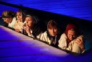 Johanna Haglund, Martyna Lisowska, Anna Jankert, Inger Wolter, Sophie Jonasson. Fotograf: Stig Hammarstedt