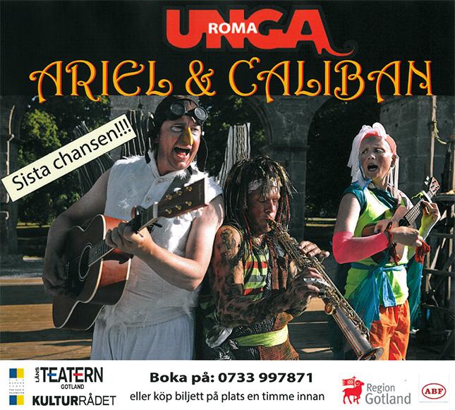 Unga Roma med föreställningen Ariel & Caliban