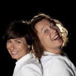 Martyna Lisowska och Karin Kickan Holmberg. Foto: Stig Hammarstedt