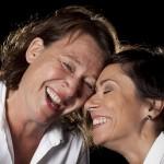 Karin Kickan Holmberg och Martyna Lisowska. Foto: Stig Hammarstedt