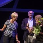 Tommy Wahlgren, Lotta Bägerfeldt och Towe Stoor. Foto: Stig Hammarsedt