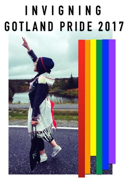 Invigning av Gotland Pride 2017