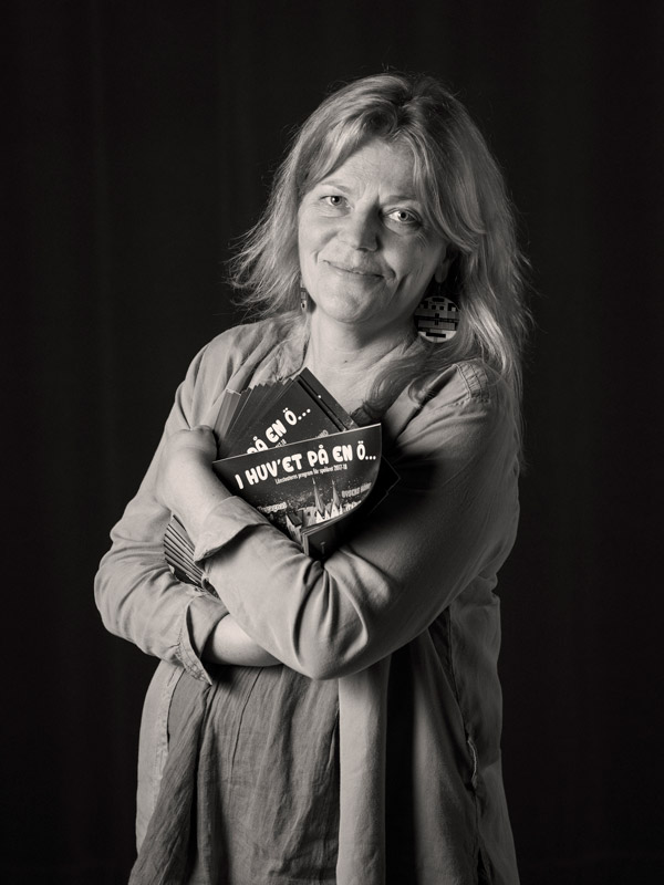 Lisbeth Pettersson. Fotograf: Anna Sundström