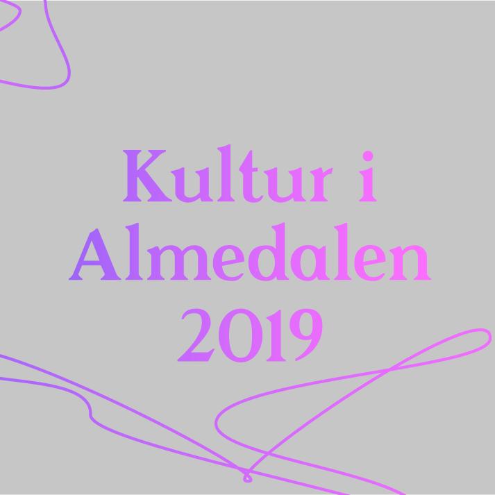 Kultur i Almedalen 2019